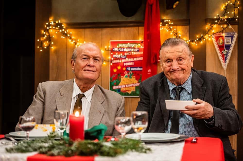 Fernand Costermans en DDT vieren kerst