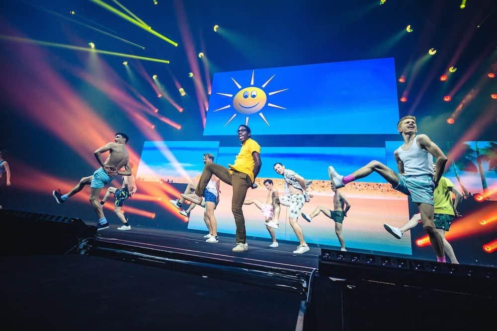 Yemi (Francisco Schuster) tijdens #LikeMe in Concert (Lotto Arena 2019)