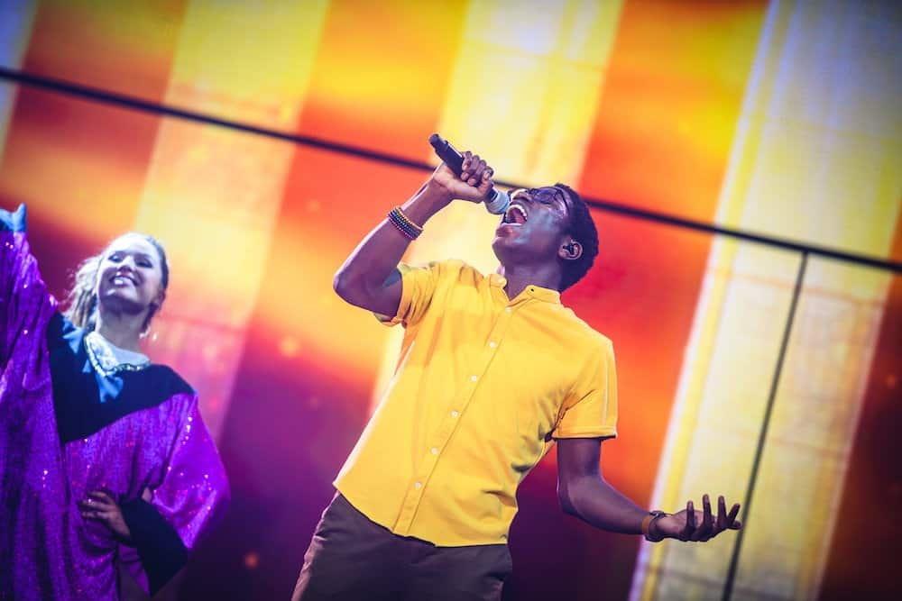 Fransisco Schuster (Yemi) tijdens #LikeMe in Concert (Lotto Arena 2019)