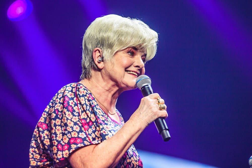 Janine Bisschops tijdens #LikeMe in Concert (Lotto Arena 2019)