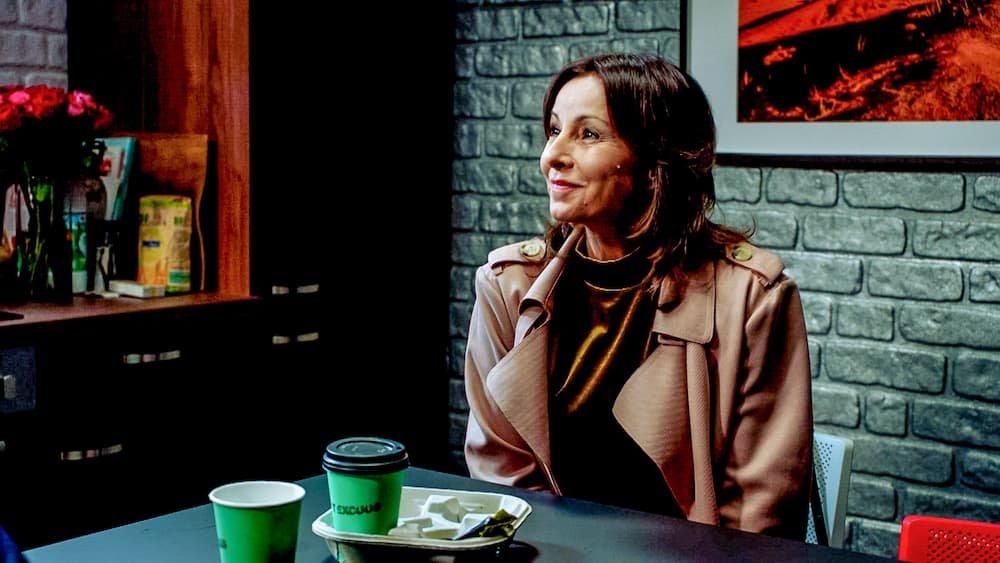 Bieke Ilegems in cast telenovelle Lisa; ze speelt de rol van Frederika