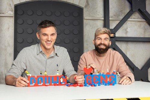 Nederlandse deelnemers tweede seizoen LEGO MASTERS: Rene en Douwe