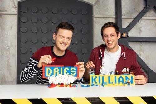 Vlaamse deelnemers tweede seizoen LEGO MASTERS: Dries en Killian