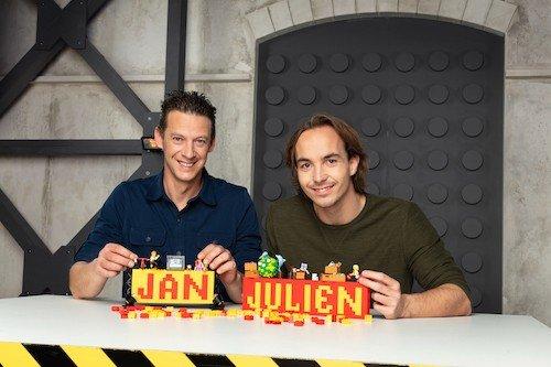 Vlaamse deelnemers tweede seizoen LEGO MASTERS: Jan en Julien