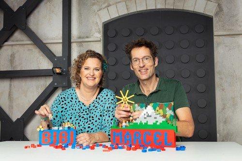 Nederlandse deelnemers tweede seizoen LEGO MASTERS: Marcel en Bibi