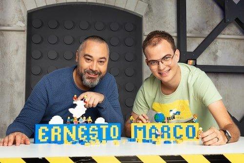 Nederlandse deelnemers tweede seizoen LEGO MASTERS: Marco en Ernesto