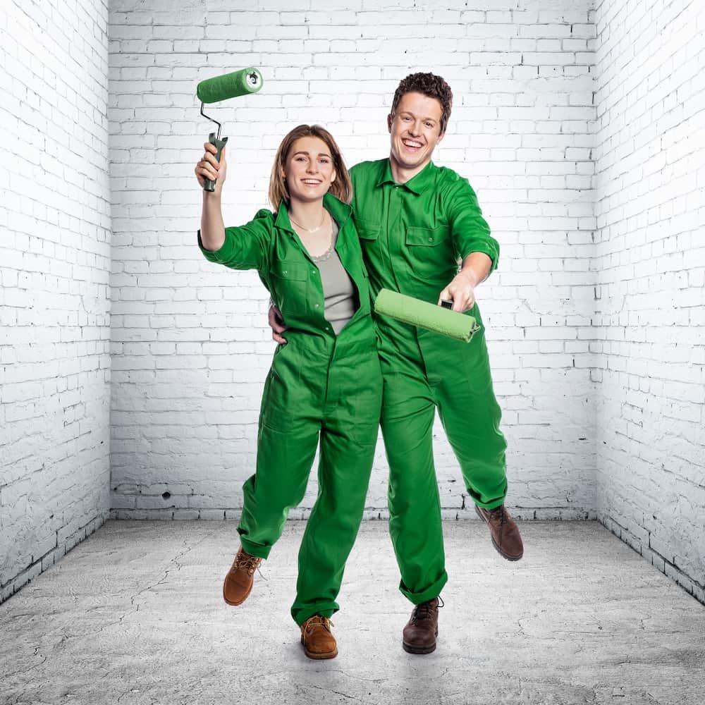 Charlotte en Thibaut: deelnemers Huis Gemaakt VTM