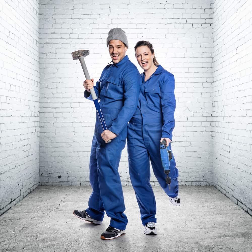 Emiel en Davina: deelnemers Huis Gemaakt VTM