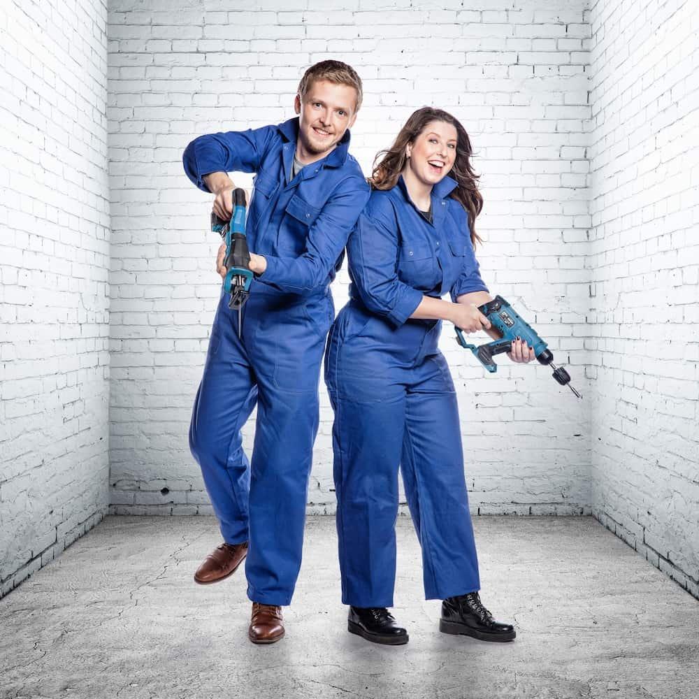 Jasper en Laura: deelnemers Huis Gemaakt VTM