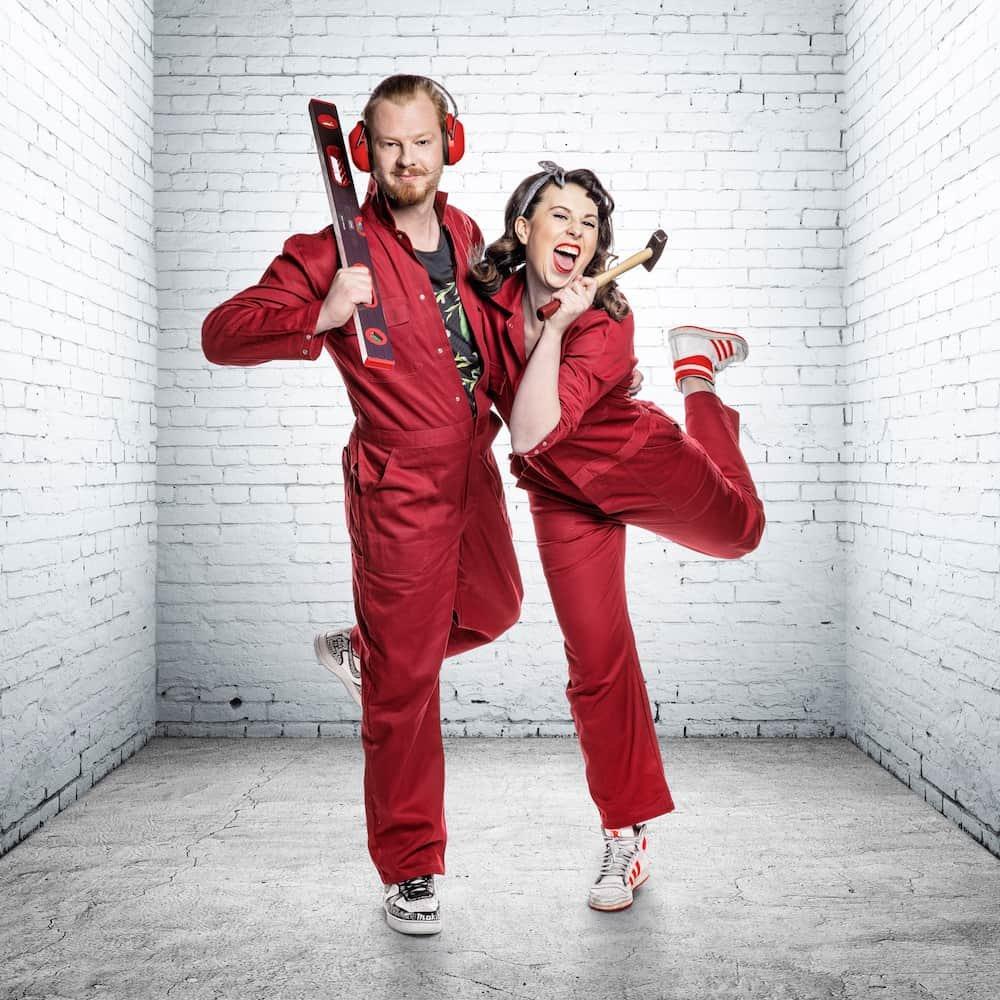 Pieter en Anais: deelnemers Huis Gemaakt VTM