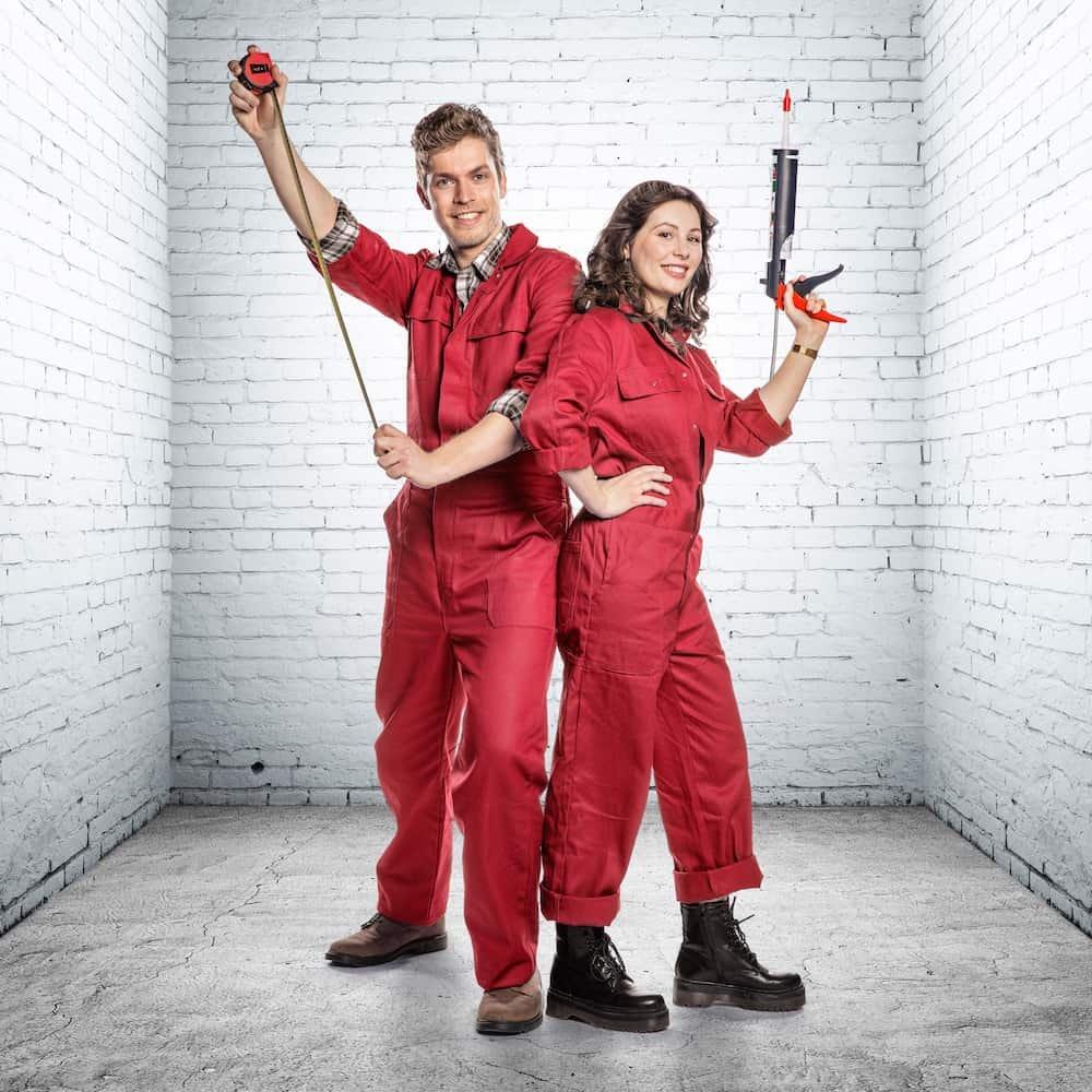 Ruben en Antje: deelnemers Huis Gemaakt VTM