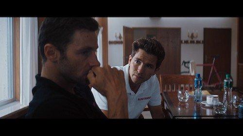Louis Talpe en Matteo Simoni in The Racer; nu te zien op Netflix